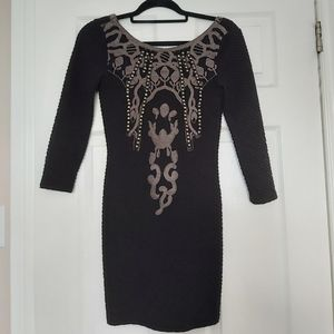 Free People black mini dress XS